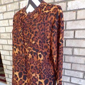 Valerie Stevens Large 12/14 Top Shirt Blouse